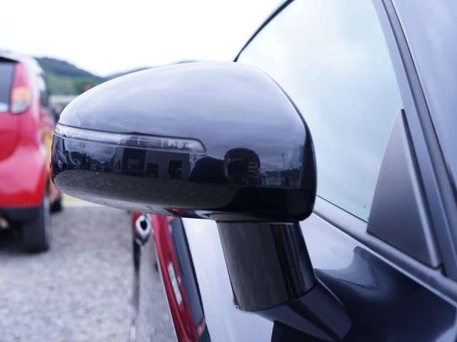 サイドミラーもカッコよく、運転手からも見やすいデザインとなっております!