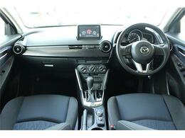 前席全体 目線も高く広い視界で安心して運転することができますね!