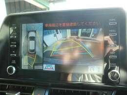 パノラミックビューモニターでバックも縦列駐車も楽々に!!