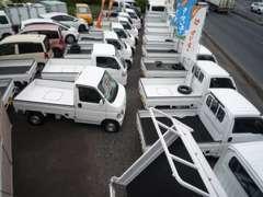 軽バントラ以外にも乗り出しで10万円台~20万円台の格安車両も常時在庫!お気軽にご相談ください。