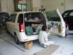 二級整備士が常駐しております。整備・鈑金・塗装に自信あり!!