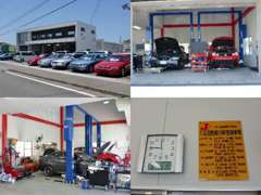 陸運局認証工場でフル整備。安心・良質車のご提供をお約束します