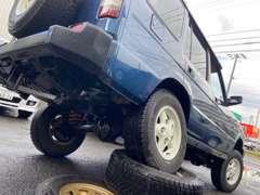 北海道の環境ですが本州仕入れですので、下回りは綺麗です♪どれもこだわりを持って仕上げております(^^Land Rover life♪