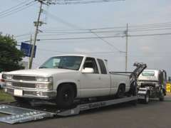 フルフラット積載車で万が一のトラブルにも幅広く対応出来ます!