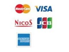 クレジットカード取り扱いスタート!詳細は店頭にてご確認下さい。