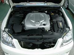 エンジンルームも全車洗浄して納車致します!!