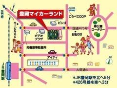 JR豊岡駅から徒歩にて約10分