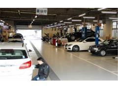 全車種を取り扱う工場を併設、経験豊富なスタッフがサポート