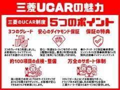 三菱認定U-CAR保証は全国の三菱ディーラーで保証修理が可能です