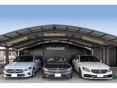 当店はヤナセ最大の中古車展示場です。第3京浜港北IC出口からクルマで2分。