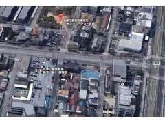 国道2号戸崎町南へすぐ、サービス併設アフターも安心。