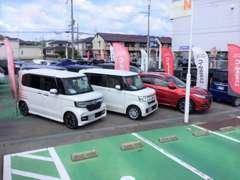 ☆☆Honda Cars兵庫三木インター店へようこそ☆☆ 認定中古車を30台前後取り揃えております。