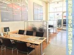 当店自慢のテーブルスペースです!大人数でのご来店も大歓迎でございます。