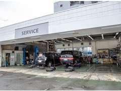 自社工場併設なので、お車の整備もバッチリですので、購入されても、きっちりとした状態でお渡し致します。