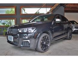 BMW X4 M40i 4WD ブラックサファイア 白革 ACC 20AW