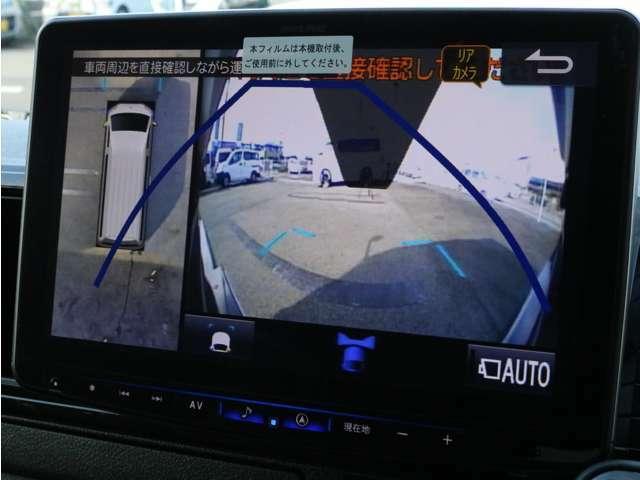 BIG-X11インチナビを搭載! パノラミックビューモニター、バックカメラの映像はナビモニターに描写されます。