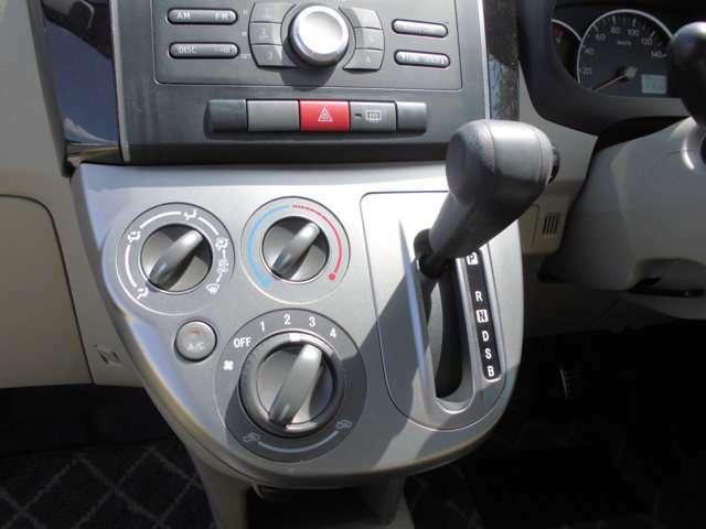 インパネシフトで運転しやすいです