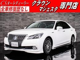 トヨタ クラウンマジェスタ 3.5 Fバージョン 禁煙車/1オーナー/黒革/新品フルエアロ