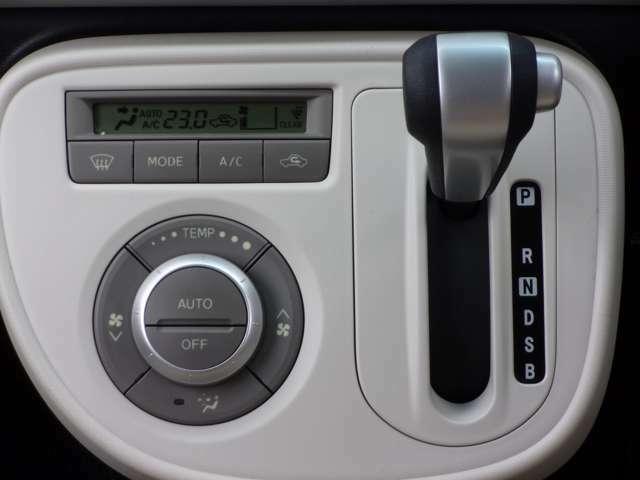 オートで空調を行ってくれますので、車内はとっても快適!だからドライブも更に楽しい!