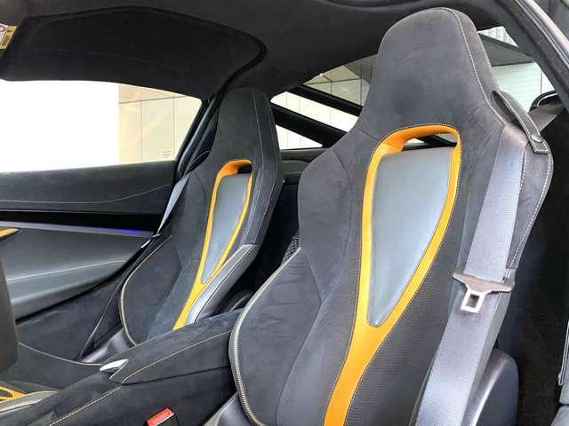 Scoria Grey&McLaren Orange ラゲッジリテンションストラップ