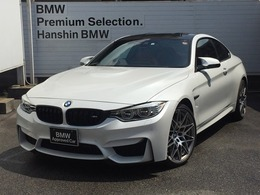 BMW M4クーペ M DCT ドライブロジック コンペティションパッケージ装着車 認定保証