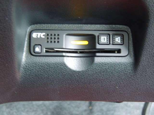 ETC付♪高速道路の料金所はキャッシュレスで通過です!サービスエリア等にあるスマートインターの出入りも利用可能でとっても便利♪ご納車後すぐにお使い頂けるようにセットアップしてのお渡しになります。