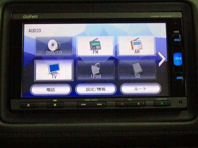 DVD,CDはもちろんテレビ、AM、FMも聴けます。iPODなんかも繋げちゃいます。
