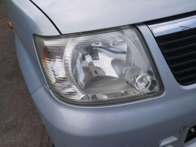 ヘッドライトは黄ばみを除去してます!
