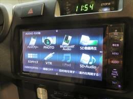 純正SDナビTV装備で、ロングドライブも快適。