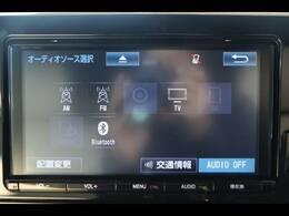 純正9型を装備。フルセグTV、ブルートゥース接続、DVD再生可能、音楽の録音も可能です。