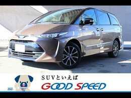 トヨタ エスティマハイブリッド 2.4 アエラス スマート 4WD 純正9型SDナビ セーフティセンス クルコ