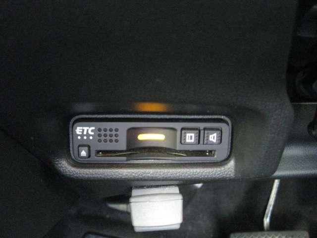 ETC車載器付きですので高速道路の料金所もノンストップです。