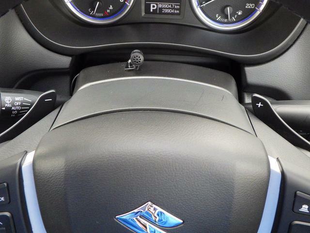 パドルシフトで爽快感のあるドライブを実現!