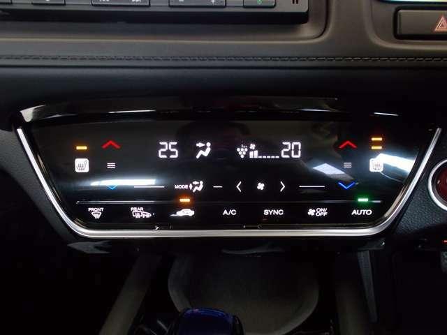 【オートエアコン+フロントシートヒーター】一年中快適です♪お好みの温度をセットするだけで、エアコンの風量を自動でコントロール♪ 運転席助手席は体の芯からポカポカ温まるシートヒーター付き。