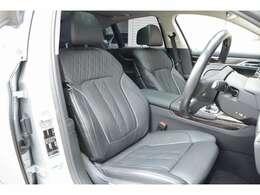 フロントシートはシートヒーター・ベンチレーション、マッサージ機能も装備されております!