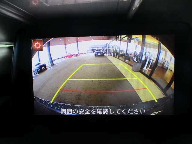 バックカメラが駐車をサポートします!