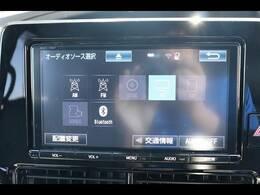 純正9型ナビを装備。フルセグTV、ブルートゥース接続、DVD再生可能、音楽の録音も可能です。