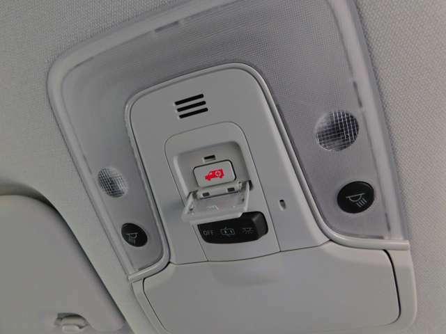緊急時はトヨタのオペレーターに接続出来ます!