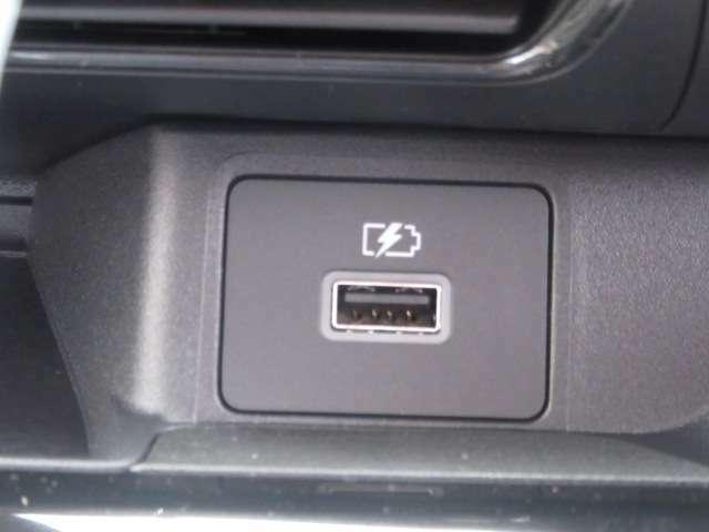 USBポートも装備しております♪