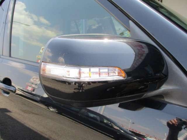 おしゃれに見えて対向車や後続の二輪車等への方向指示に役立つウィンカーミラーも装備されています!
