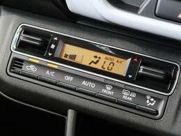 【フロントオートエアコン】温度設定をするだけで、風の温度・風量を勝手に決めてくれるスグレモノ!車内を簡単に快適にしましょう♪