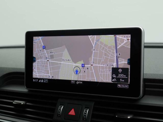 Wi-Fiスポット機能を備えたナビゲーションが付いておりお手持ちのモバイルとインターネット接続可能