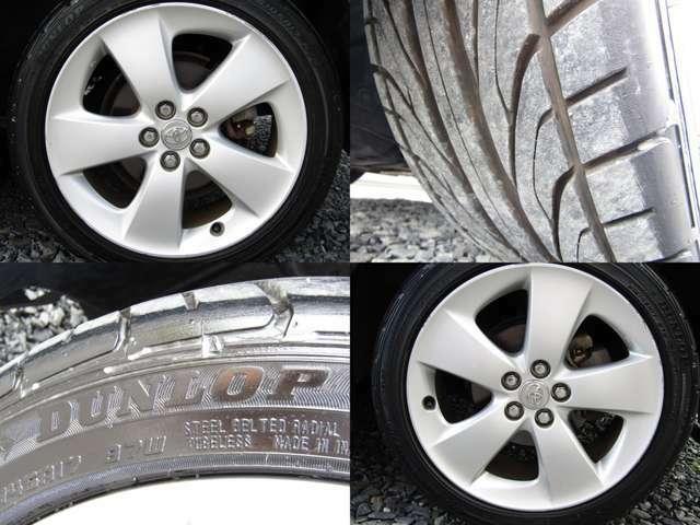 Sツーリングセレクション純正17インチアルミホイール 215/45R17 ダンロップ2018年製造夏用タイヤ