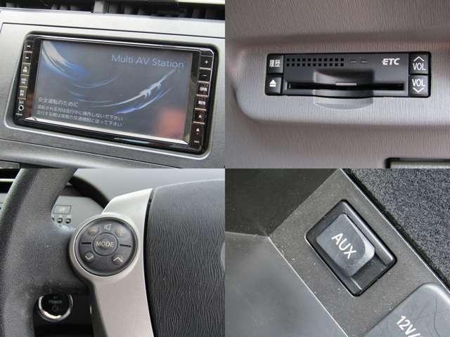 純正HDDナビ 地デジ バックカメラ ビルトインETC ステアリングスイッチ CD/DVD再生 AUX入力