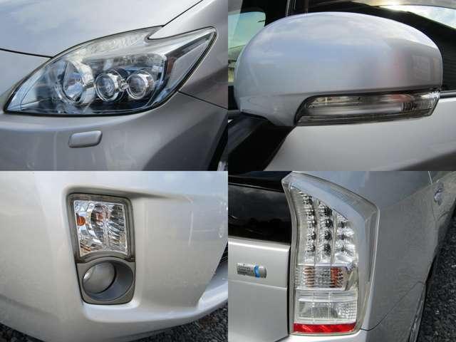 LEDヘッドライト ヘッドライトウォッシャー ウインカー付きドアミラー フォグランプ