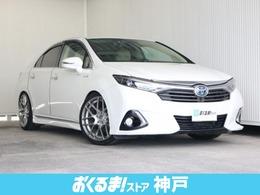 トヨタ SAI 2.4 G Aパッケージ SDナビTV 外19インチAW ローダウン車高調