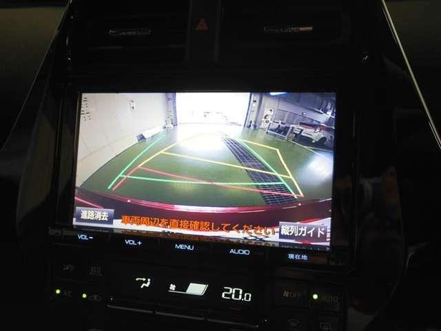 駐車時バック時の安全確認をサポート!バックガイドモニター