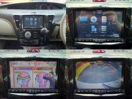 純正8型SDナビ!フルセグTV、CD&DVD再生、Bluetoothオーディオ、バックカメラ付き♪