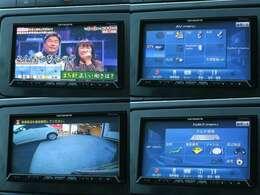 カロッツェリア・メモリーナビ(^^♪地デジフルセグ/DVD/Bluetooth/バックカメラ付き(^^♪ETCもついています(^^♪