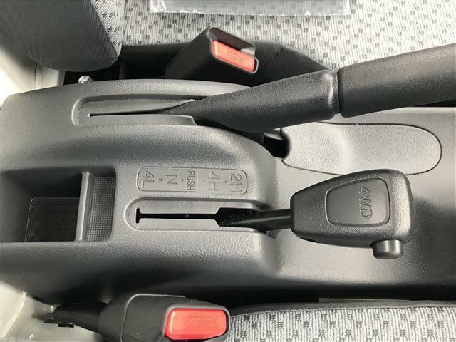 パートタイム4WD高低2段切換式